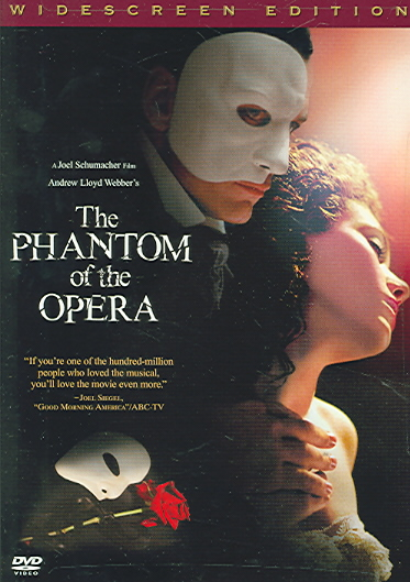 PHANTOM OF THE OPERA BY BUTLER,GERARD (DVD)